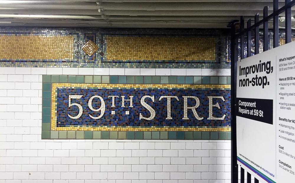 Lexington Avenue - 59th Street Snapshot