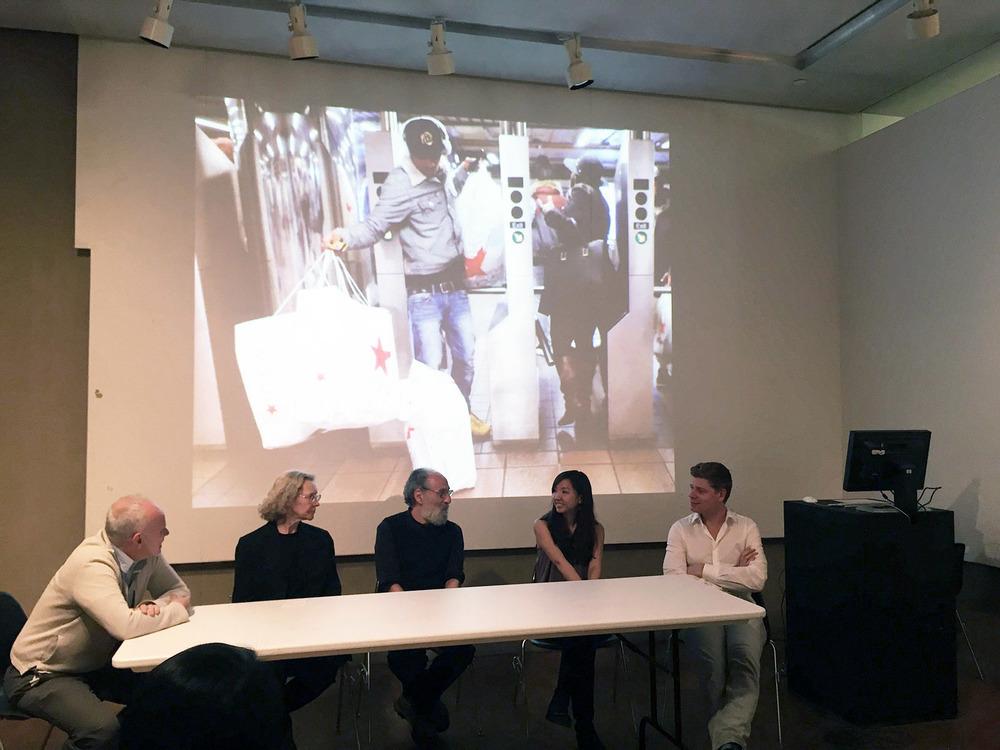 Panel Discussion (Left to Right -Brian McGrath, Carol Willis, David Grahame Shane, me, Stefan Al)