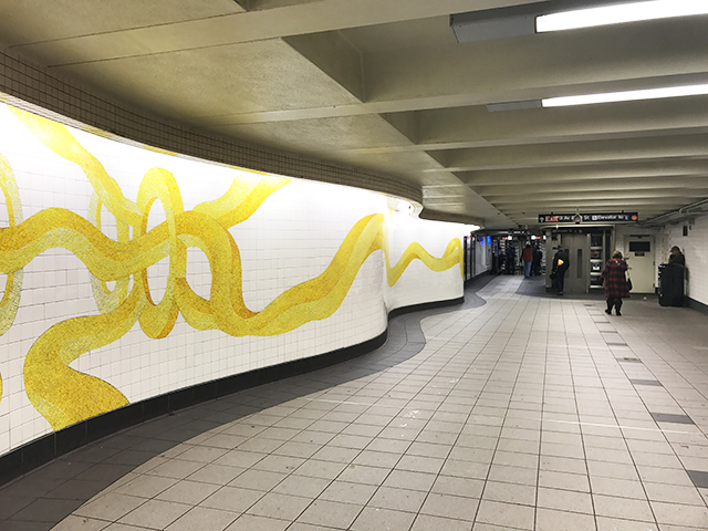 Mural at 53rd Street - Lexington Avenue Station