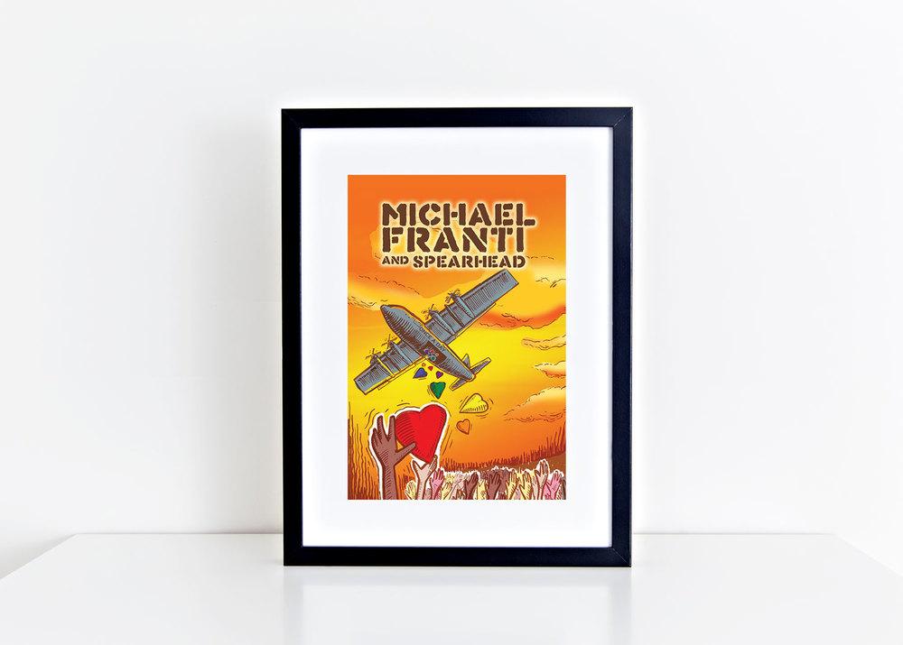 Michael Franti Tour Poster