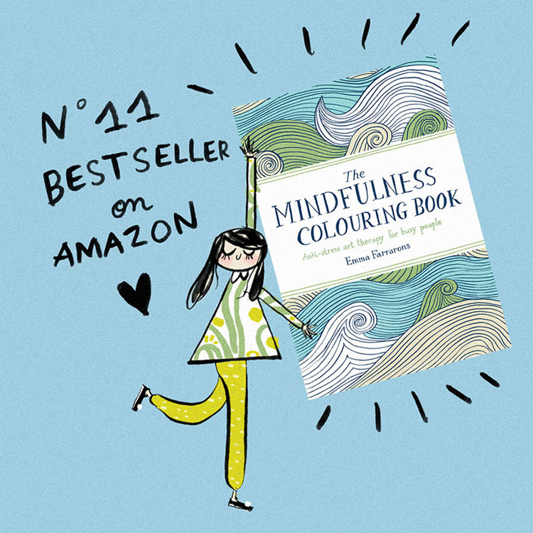 I Cant Believe That The Mindfulness Colouring Book Has Made It To Number 11 AMAZON BEST SELLER Its Best Feeling In World