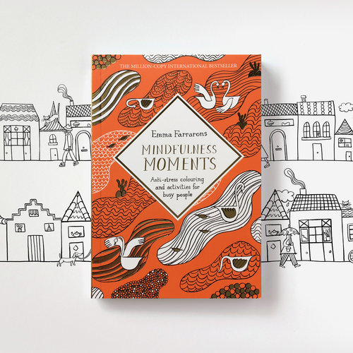 Available In UK Bookshops And Amazon Mindfulness Moments Anti Stress Colouring Activities
