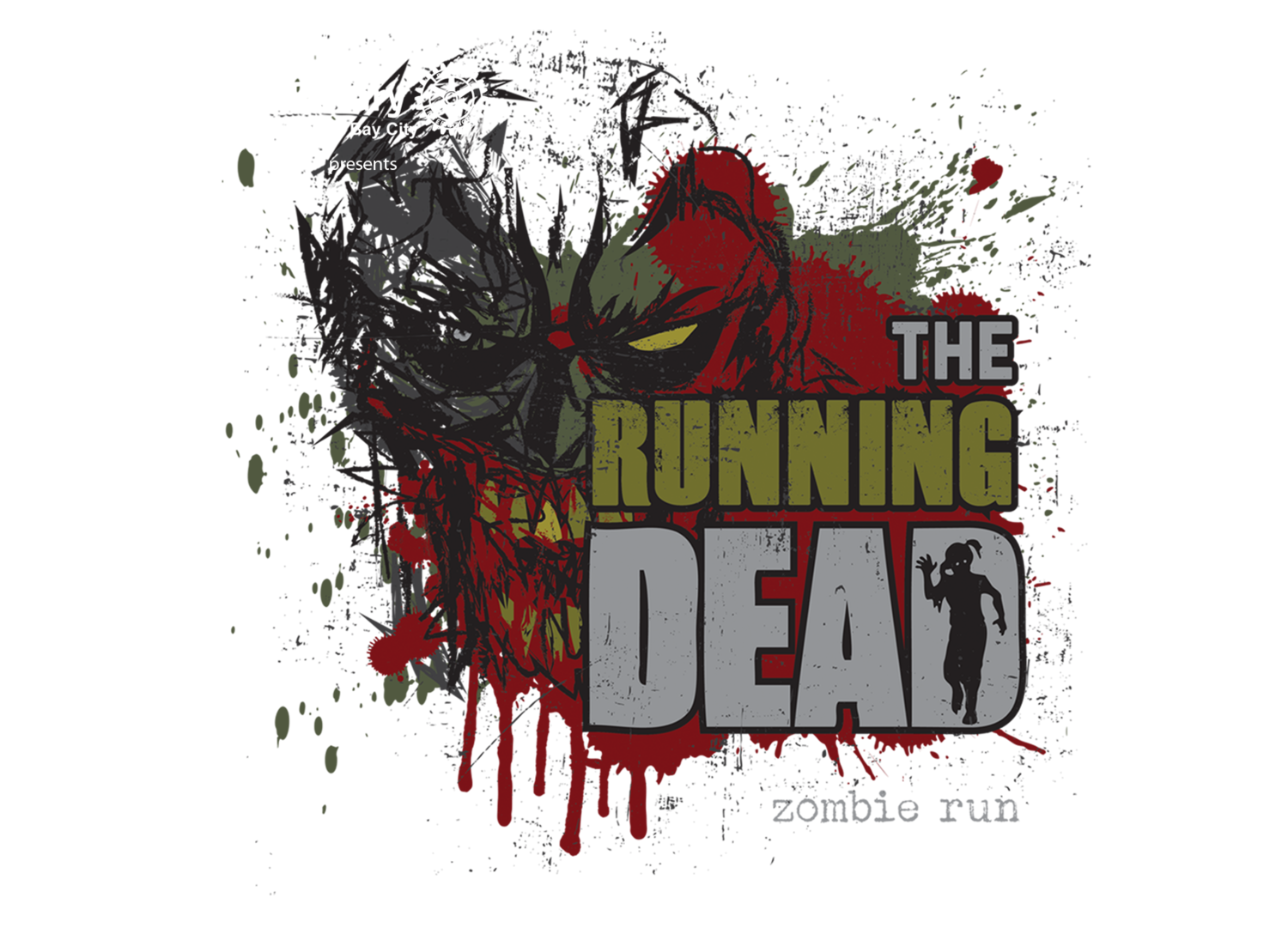 The Bay City Running Dead Zombie Run