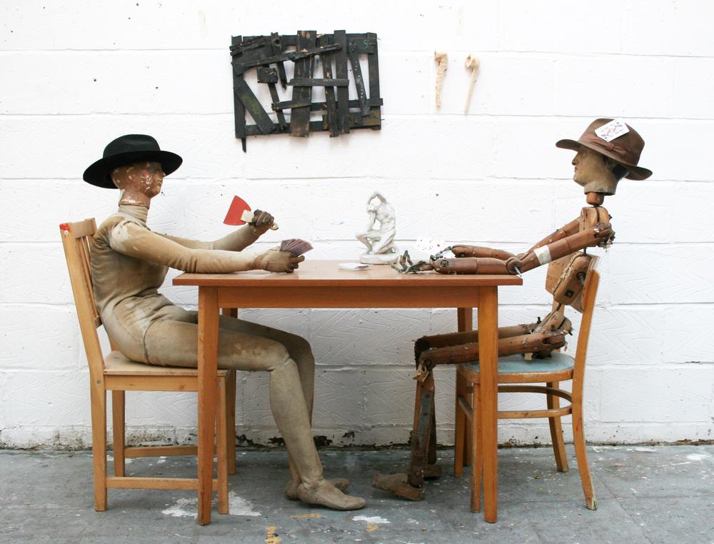 Studio shot: Cezanne Card players idea. 2010