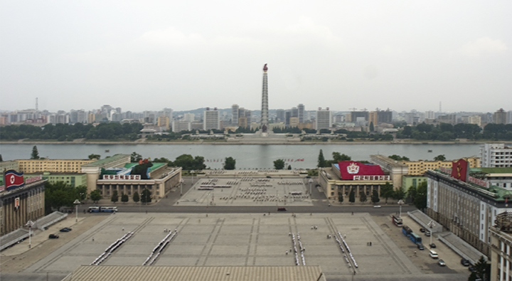Juche Tower, Pyongtang, North Korea, June 5 101, 3:46 pm