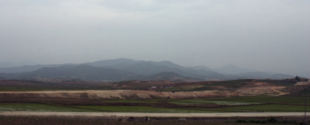 Landscape Outside of Hamhung, North Korea, June 8 101, 11:56 am