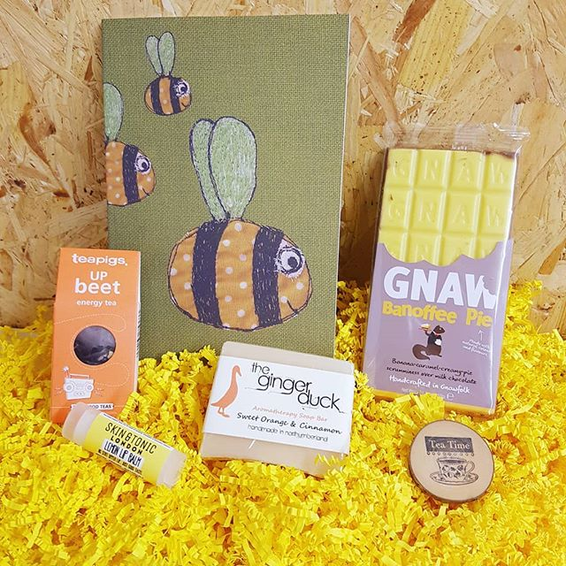 The 'Sunshine Box' ☀ This is where it all began. A simple idea of a way to send boxes full of lovely things to brighten up someone's day.  Do you know someone going through a tough time at the moment who could do with a little sunshine?  www.sendabox.co