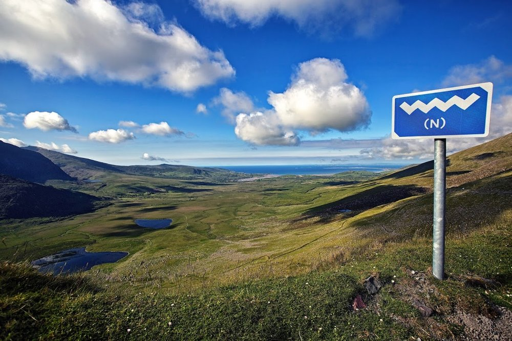 A small part of Ireland's Wild Atlantic Way…