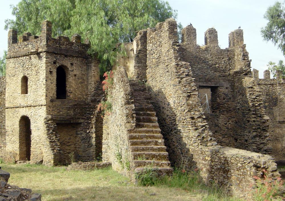 Gondar castle Ethiopia