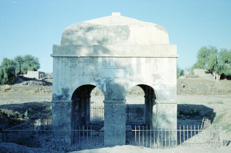 Colonel Sandeman's tomb in Bela, Baluchistan
