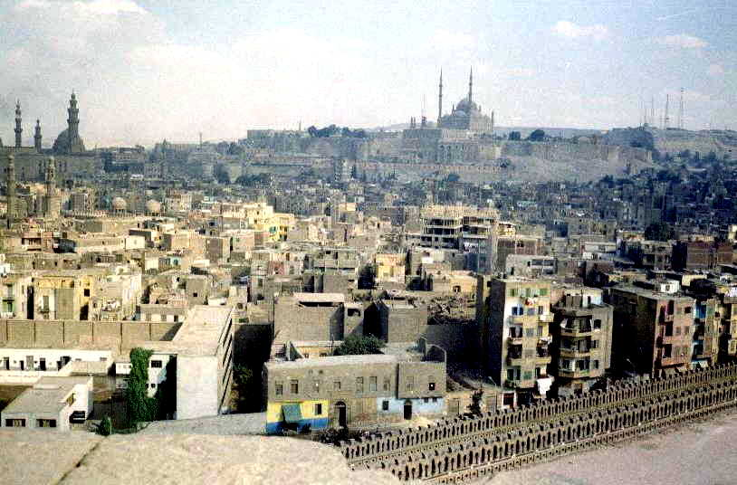 Cairo, view to the Citadel