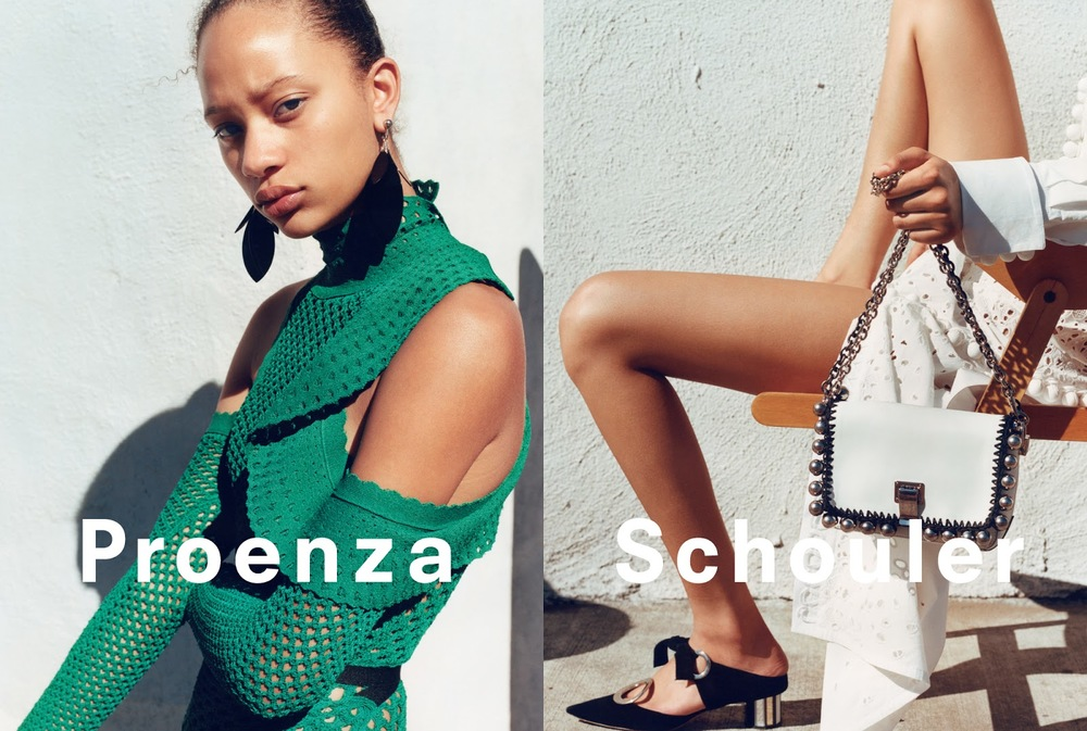 An image from Proenza Schouler's spring 2016 campaign.