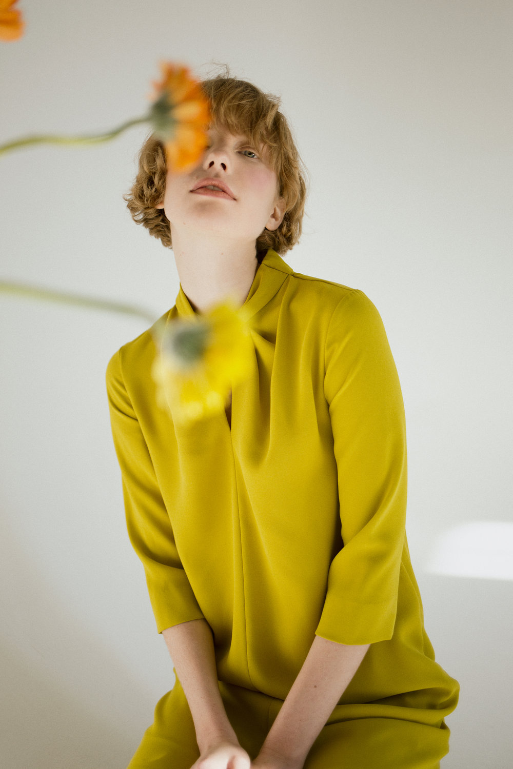 YELLOW STATE  Published On 08 January 2016   Photographer  Anastasia Izghahina  Model  Katerine @Artpodium model agency