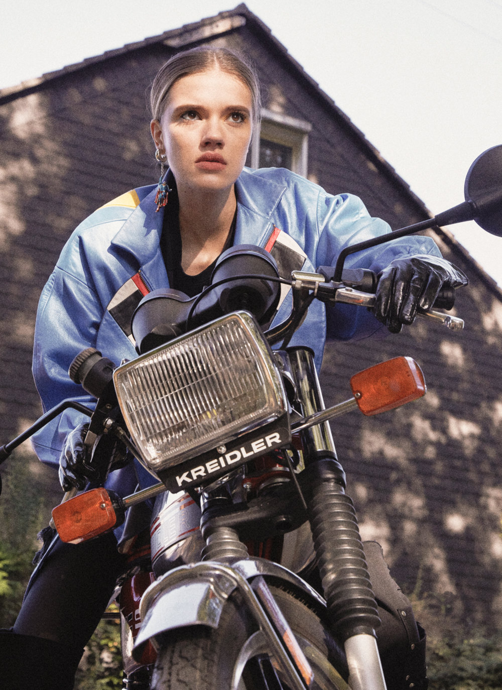 Suburban Girl 91   Published on 06 November 2018   Photographer  Uwe Konrad @uwe_m._konrad  Stylist  Laila Raoui @elvistheking3  Make up  Janine Burg @Janine_burg  Assistant  Kristina Gutmann @kri2py  Model  Hannah Siebert at Model Management Hamburg @hannah.siebert  Thanks  Guido for the Moped