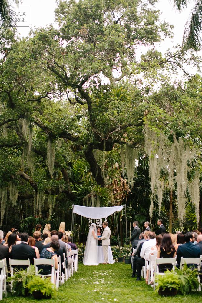 Modern Miami Garden Wedding Kampong