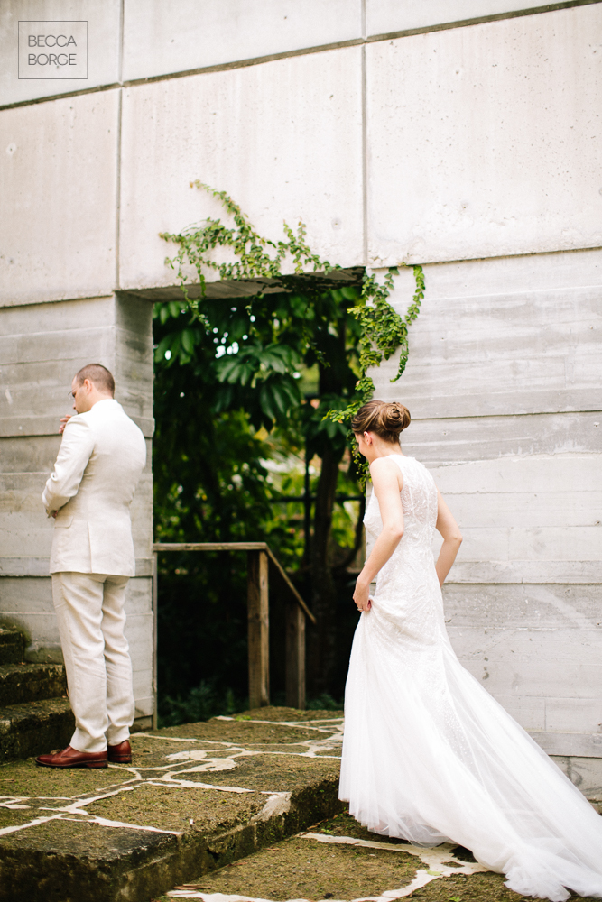 Modern Garden Miami Wedding