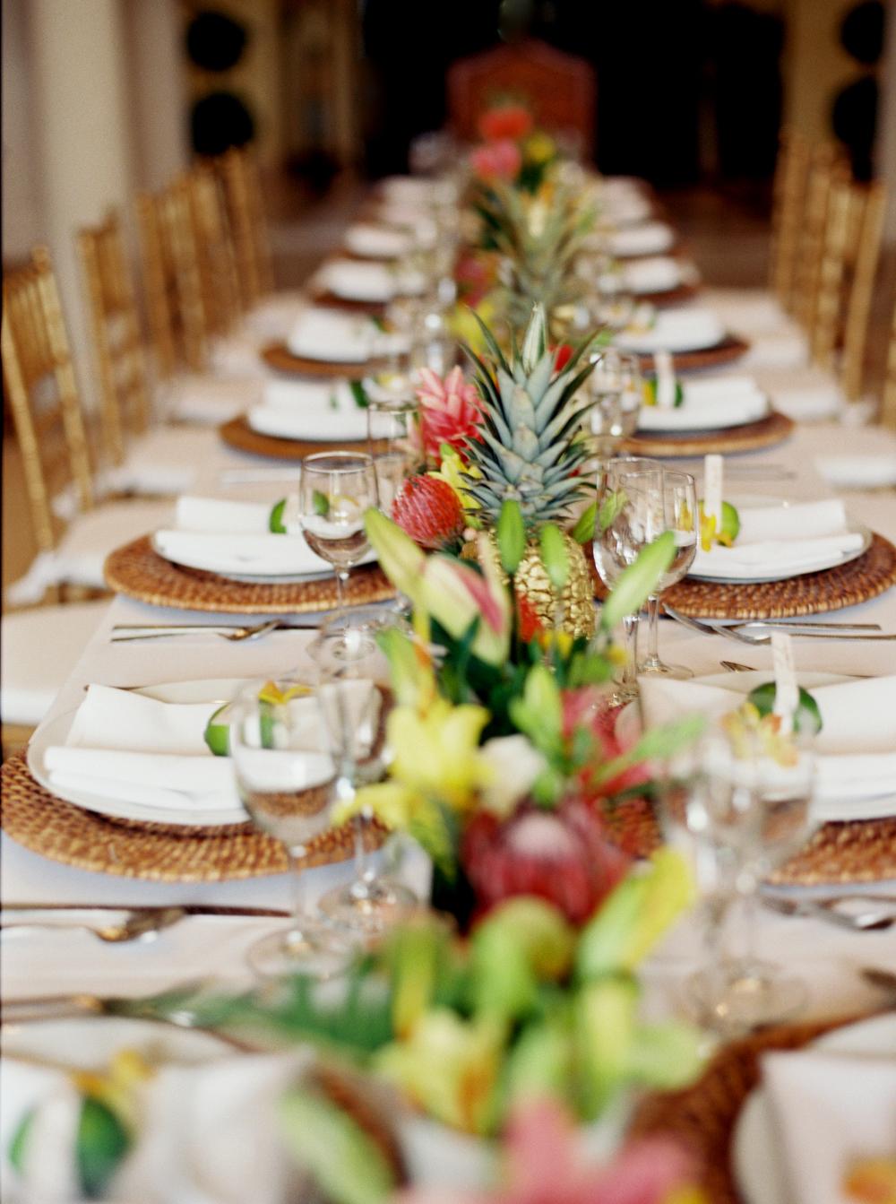 Tropical Fort Lauderdale Estate Wedding