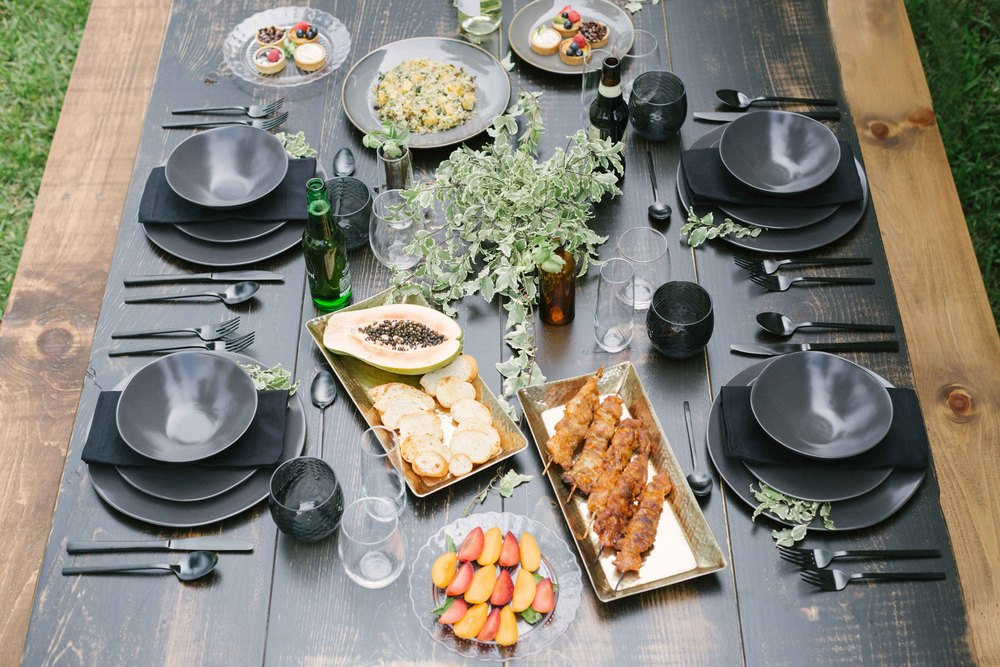 Masculine Table Inspiration