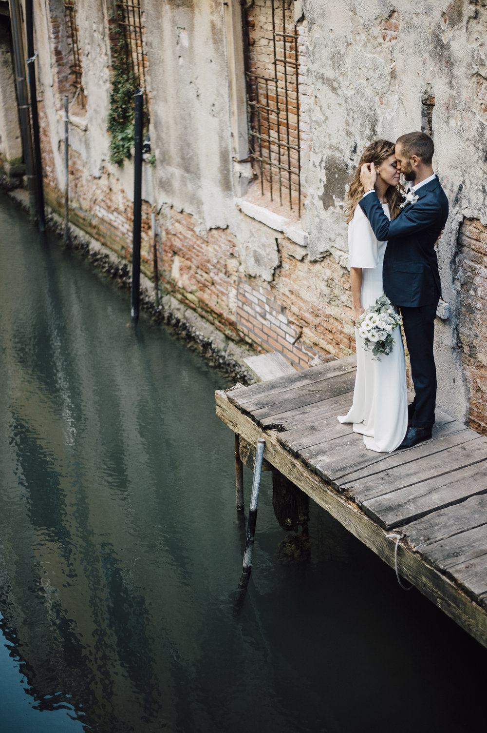 Beautiful Venice Elopement