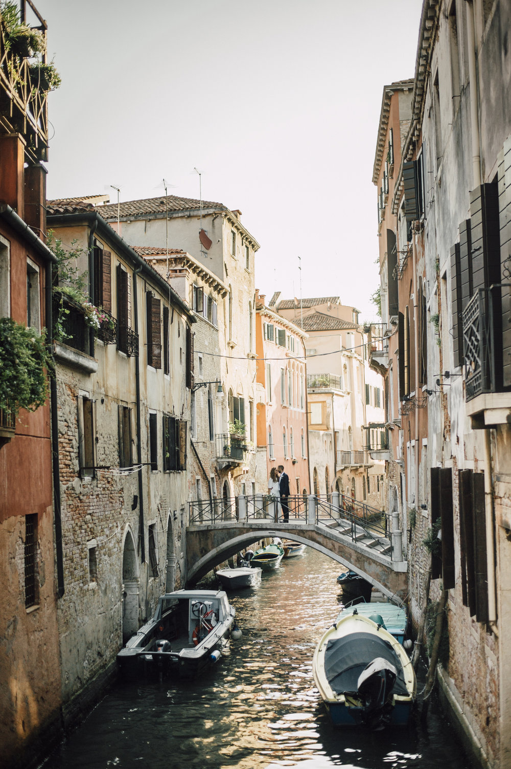 Venice Canal Italy Elopement