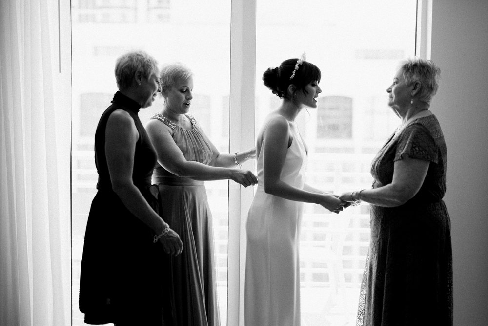 Generational Wedding Portrait by Quinn Moss