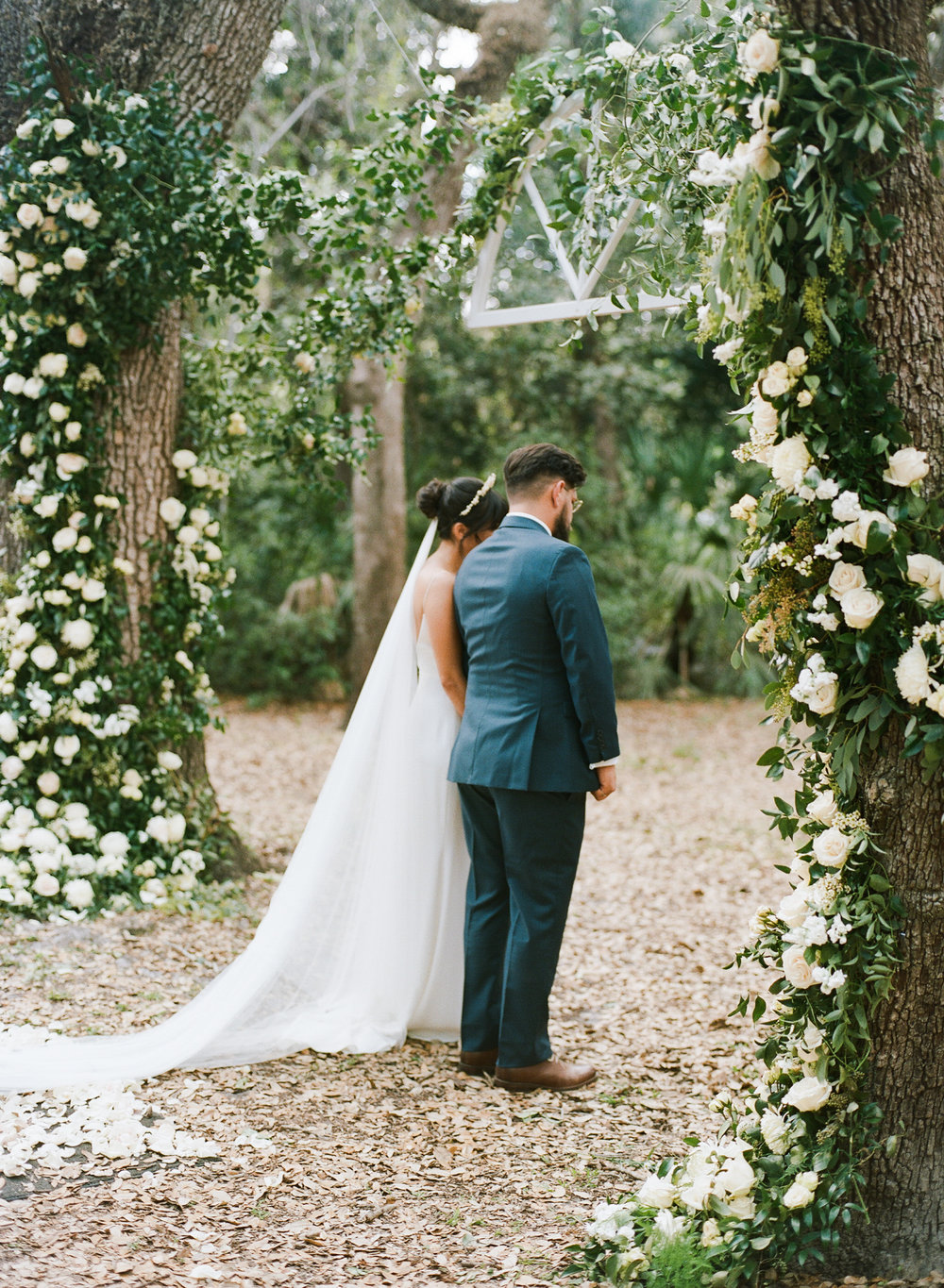 Intimate Garden Miami Wedding