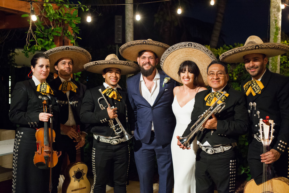 Mexican Inspired Wedding Reception