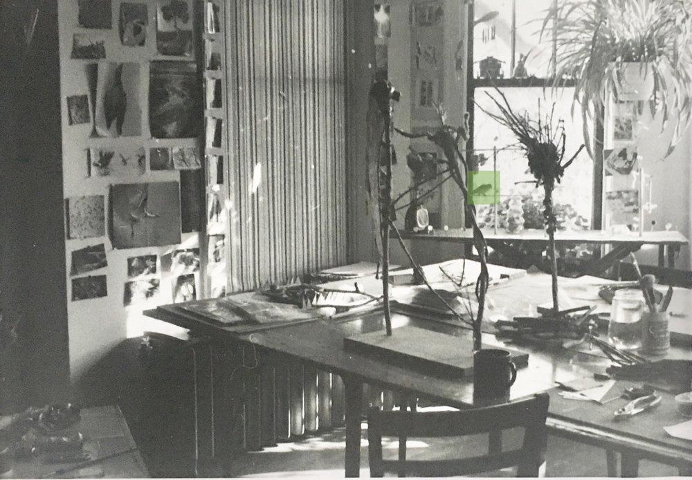 My Chicago home studio 1981-1984.