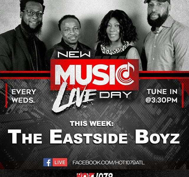 "🔥LIT SITUATION ALERT WEDNESDAY 3:30pm🔥 🔊🎥🔥DONT 4GET TO TUNE IN TO ""NEW MUSIC DAY LIVE SHOW "" AS @therealeastsideboyz ""THE EASTSIDE BOYZ "" STOP THRU AND CHOP IT UP WITH THE CREW 💥💥💥💥...................ALSO HOT NEW ""INDIE ONGO"" ARTIST. @annieoakley_cl. &.@famerica_jeandeau ON DECK......................................💥💥💥💥....................... ...........................TUNE IN WEDNESDAY 3:30pm.....on facebook.com/hot1079atl..... 💥💥💥💥💥THANKS TO ALL THE THOUSANDS OF LISTENERS FROM AROUND THE WORLD THAT TUNE IN EACH WEEK💥💥................................. .. .. Check Out Some Of The INDUSTRY GIANTS and LEGENDS That Came thru the Show and Chopped it Up With The Crew in 💥💥🎥🔥 ..............................................................................🎥🔊WE DO IT FOR THE CULTURE 🎥🔊💥💥...............................................................................TUNE IN TO💥💥 ""NEW MUSIC DAY LIVE"" 2018💥💥 WEDNESDAY'S AT 3:30pm facebook live💥💥🎥 (facebook.com/hot1079atl)..............................💥💥💥💥 . . #RadioOneAtlanta @hot1079atl & @heatseekersint 💥Brings you 💥 . 🔥NEW MUSIC DAY LIVE 🔥 . .. get your questions ready! Then we go INTERACTIVE we'll imparting jewels of wisdom coming from over 30 combined years of Industry Expertise 💥GET IN THE CONVERSATION 💥 Get answers to your questions. 💥 LIVE & DIRECT💥 from .. Producers,Engineers,A&R's,ArtistDevelopment,Managers, DJ's,Video/Media 💥Professionals💥 #Heatseekrsint 🔥  @redddreadatl @nyladyjae @kingzbread  @justjmorris  @no_drama_music  Watch and You never know what we'll do or who will join the conversation 🎥🔊💥💥PAST EPISODES CAN BE SEEN ON (Facebook.com/hot1079atl ) Archived Videos💥💥🎥................................................................. #HEATSEekersint  #millionairemindz #industreetz #franchisebiz  #authenticcaribbean #newmusicdaylive"