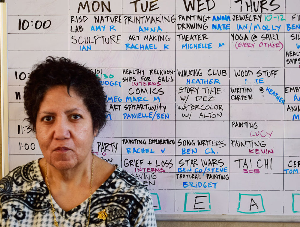 Leslie and the class schedule