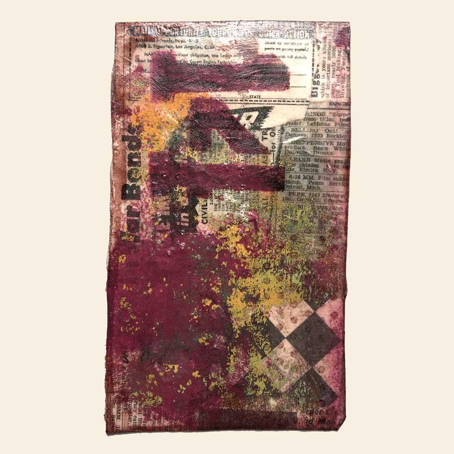 Teabag Art Number 14