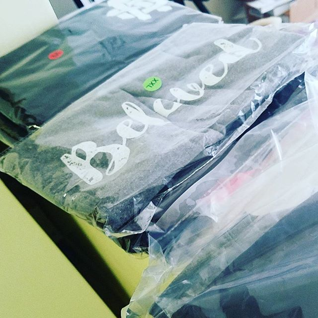 Tees are getting ready to ship out! Thanks for supporting, I can't wait to show you our next collection!  #aliensandstrangers #mission #tees #flashSale #newseason #newcollection #thankyou