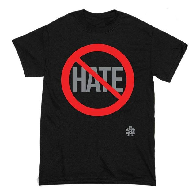 Because there is enough hate in this world... $10 Supply Is Limited! S-XXL  http://www.asclothing.co/space-wear/nohaters  Link in bio  #peace #love #insta #black #photooftheday #followme #instagood #likeforlike #blm #f4f #instagram #style