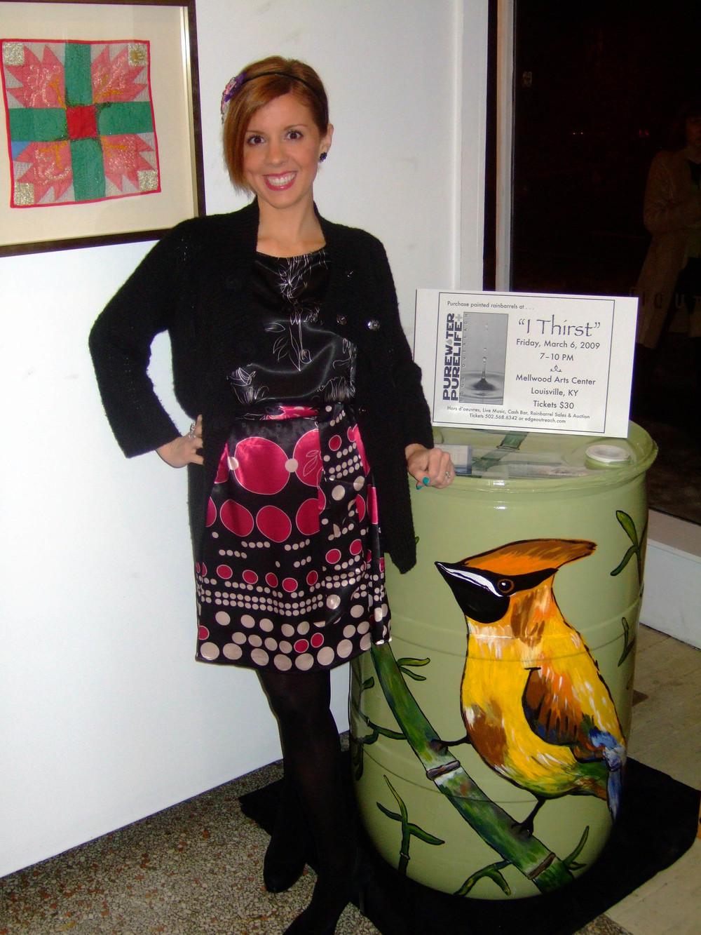 Carolyn Braden Rainbarrel Zephyr Gallery.JPG