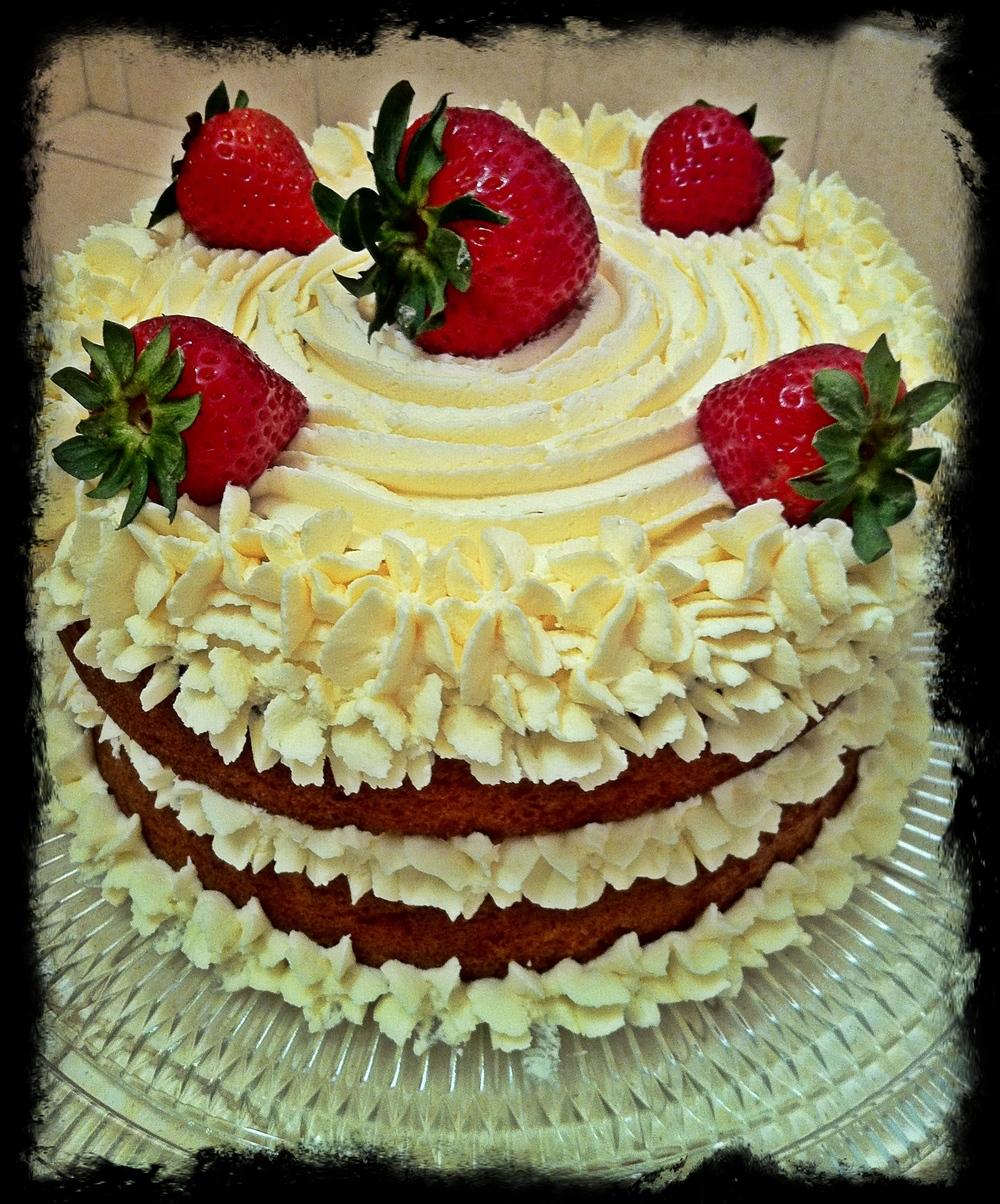 Strawberry Cake by Carolyn Braden.JPG