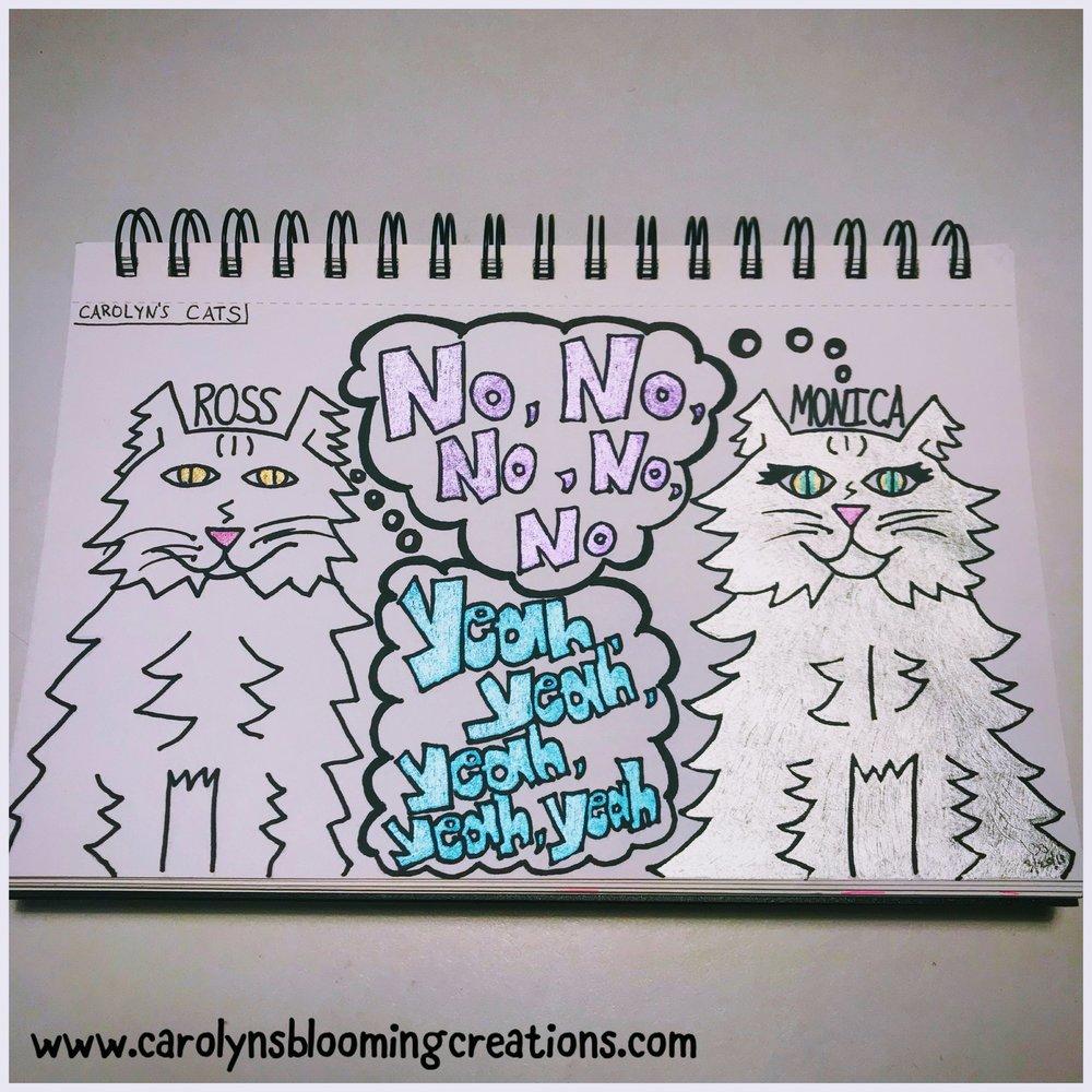Art by Carolyn J. Braden: No, Yeah