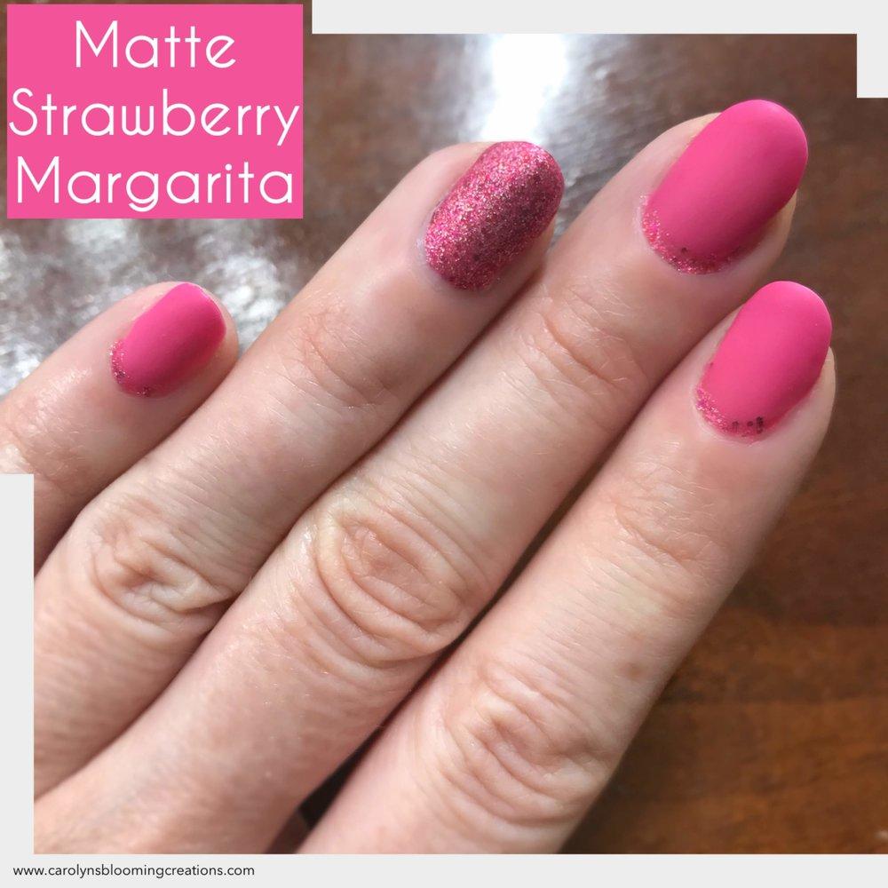 Carolyn Braden Strawberry Margarita Matte Gel Nail Polish.jpg