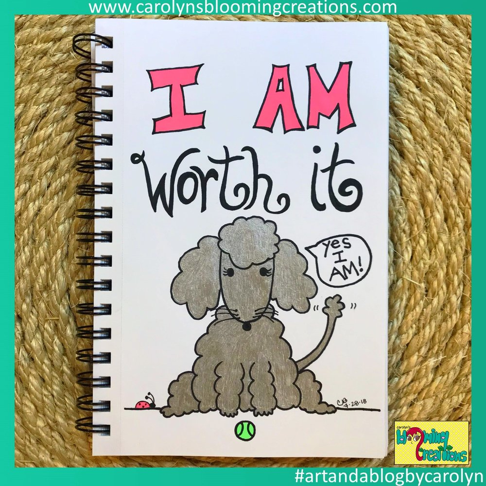 Carolyn J Braden I am worth it pet edition.JPG