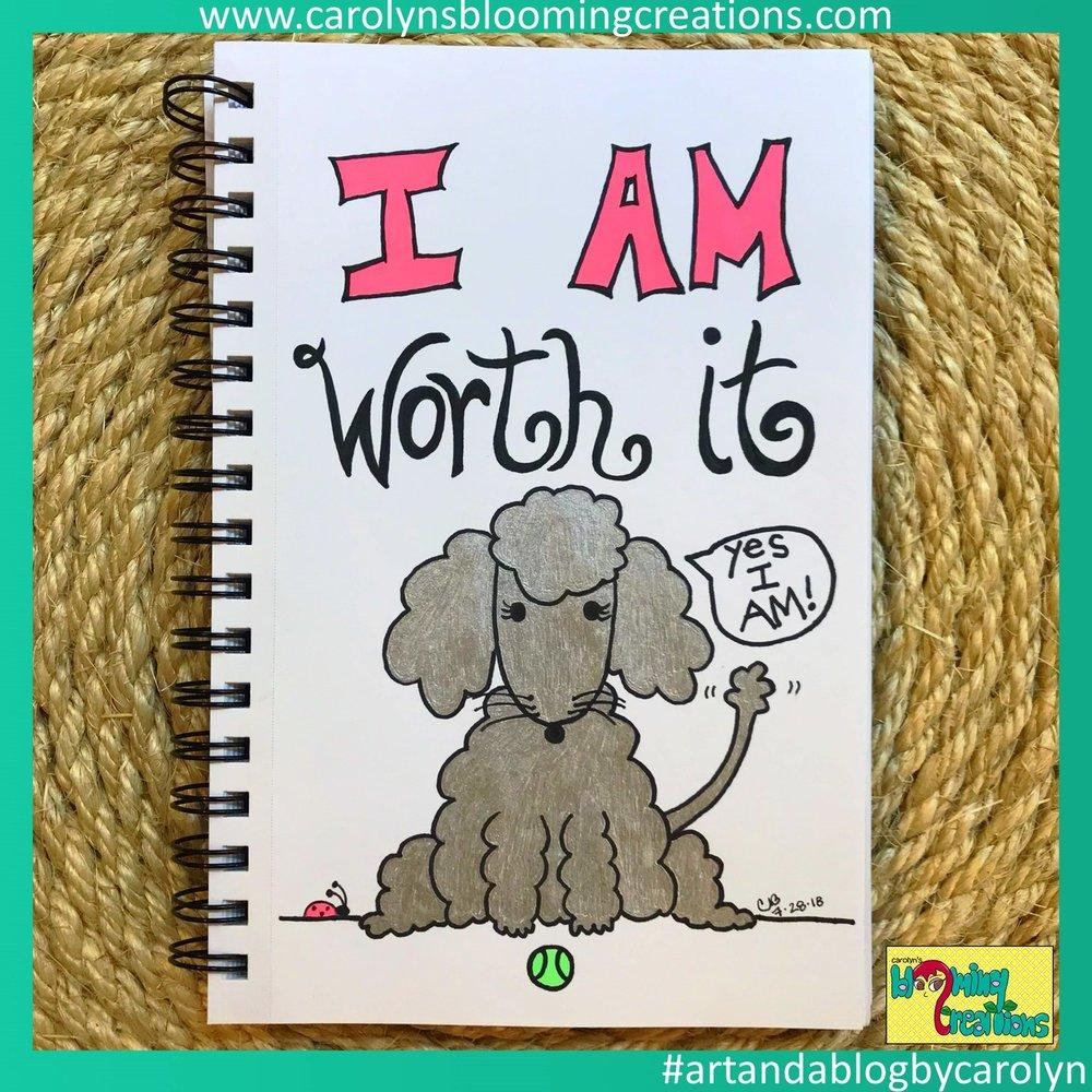Carolyn J Braden I am worth it pet edition.JPG