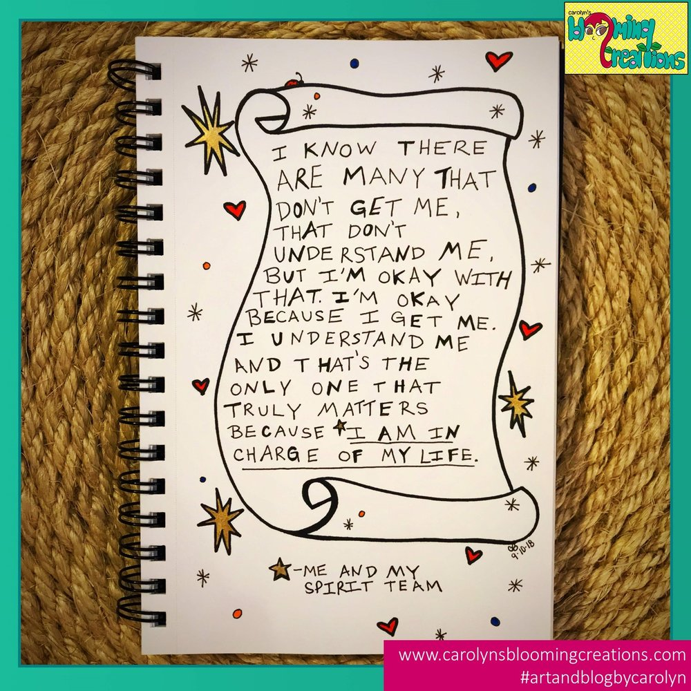 Carolyn J Braden I am in charge of my life.jpg