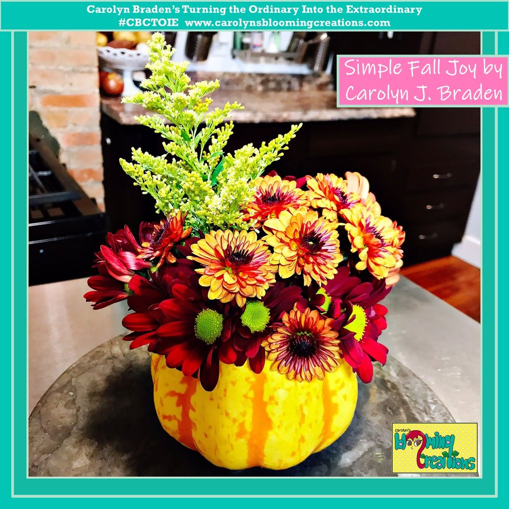 CBCTOIE Carolyn J Braden Flower Arrangment Fun  (6).JPG