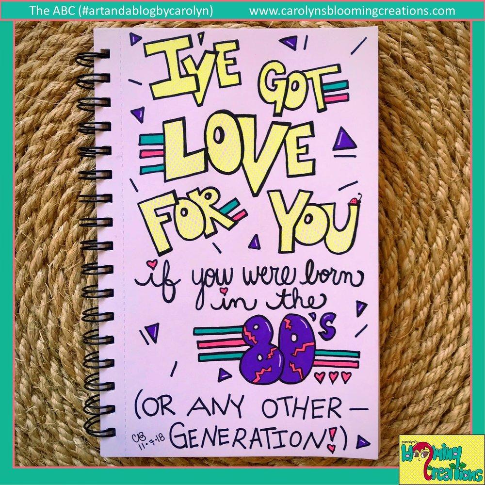Carolyn Braden Ive Got Love For You.JPG