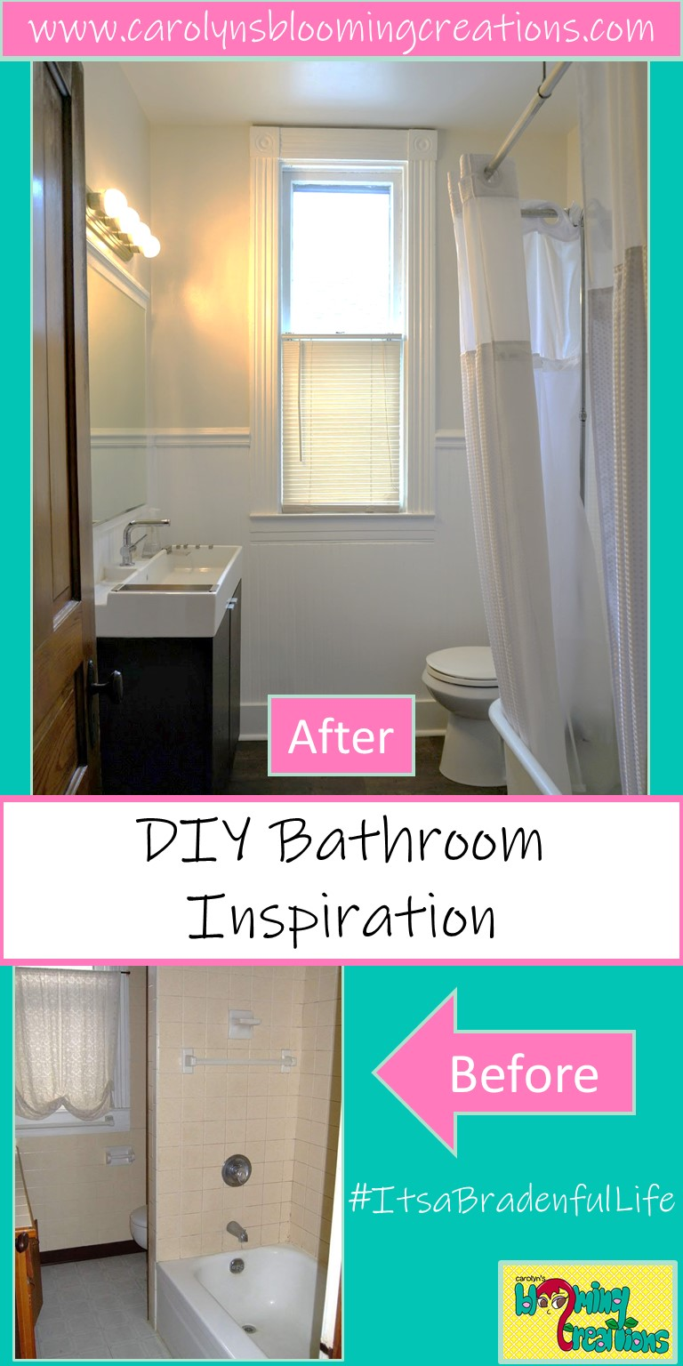 First Floor Bathroom Renovation by Tommy and Carolyn Braden