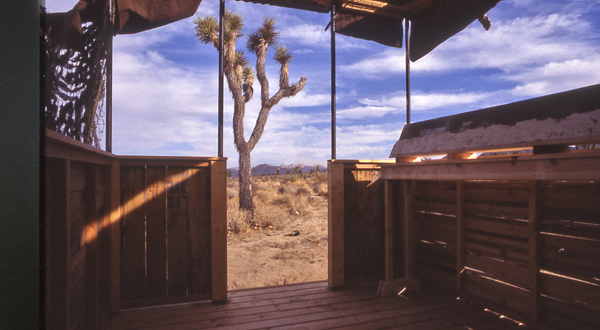 """Monty's HQ"", Installation in Joshua Tree"