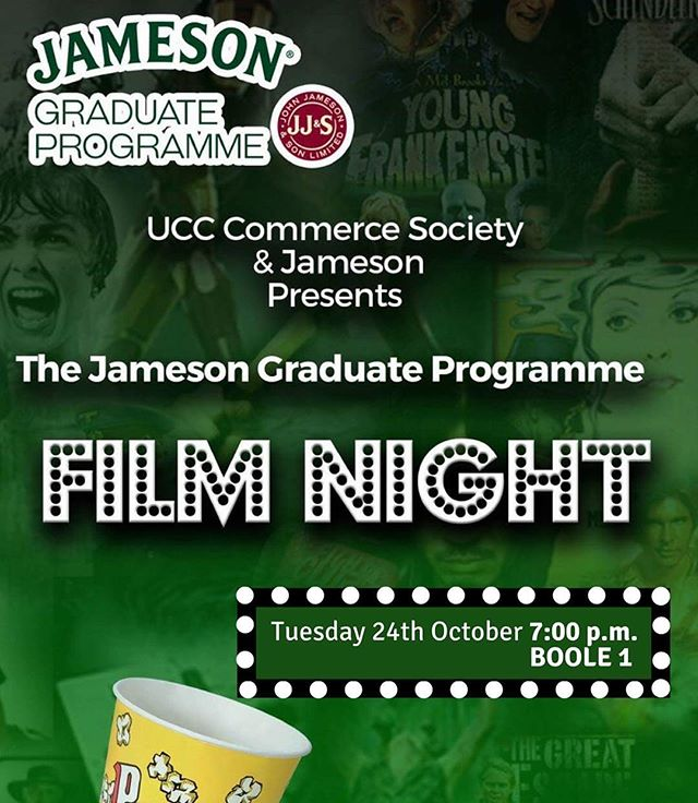 🌐Interested in working with one of Ireland's top employers? Well this evening at 7PM we have an information presentation about the Jameson graduate programme in BOOLE 1🎉 Get yourself down to BOOLE 1 and hear from Jameson about the programe🌐