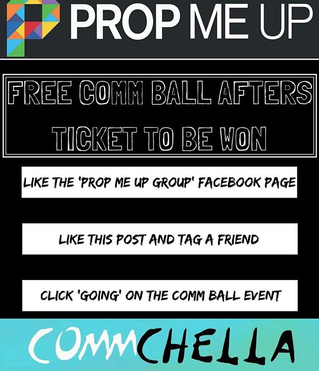 ✨ Fancy your chances of a free COMMCHELLA ticket? 😏 Simply head over to our Facebook page and enter to be in with a chance of winning 🙌