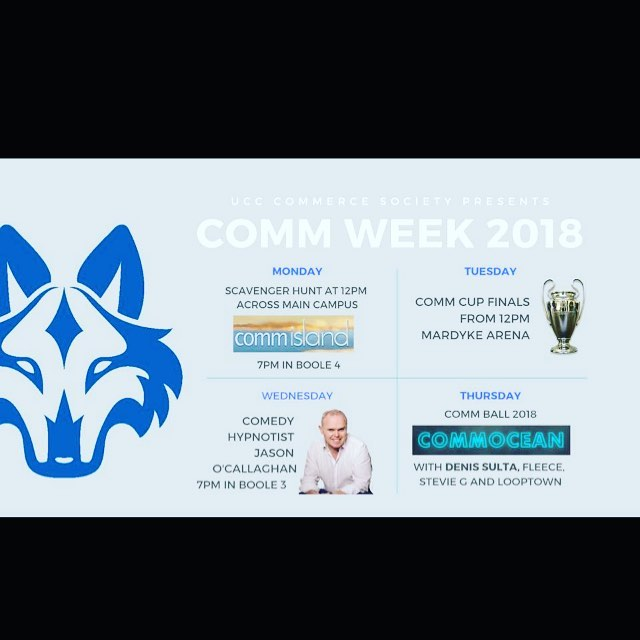 Here we go guys - make your acquaintances with the BIGGEST WEEK OF THE YEAR! Have a look at what we have in store for you in the lead up to CommBall 2018 - CommOcean is coming🌴🍉🐚