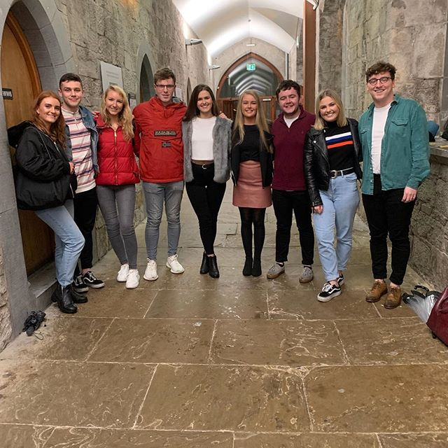 The 2019/2020 UCC Commerce Society's Executive Panel have been chosen! This evening's AGM has seen Emma Bergin elected as Chairperson - and that's only the tip of the ice Bergin as we prepare for an unparalleled year ahead✨ watch this space!