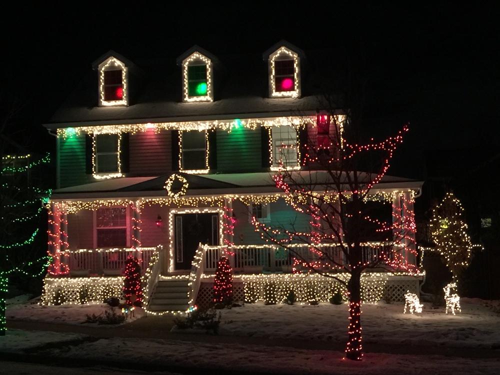 Som for eksempel naboens hus? Eller?