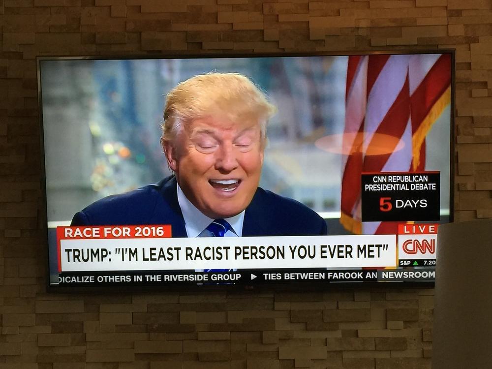 """Dette mennesket - """"the least racist person you ever met meg i rævva"""" - slipper man derimot ikke unna. Dessverre."""
